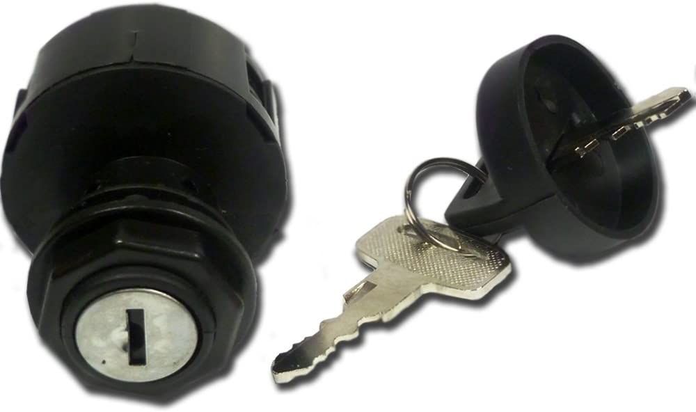 Ignition Key Switch 4 Pin 2 Position Compatible with Polaris Predator 500 2003 2004 2005 2006 2007