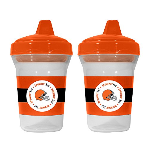 NFL Cleveland Browns 2 Pack Sippy Cup