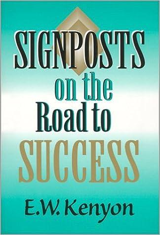 Signposts On The Road To Success: E W Kenyon: 9781577700142: Amazon