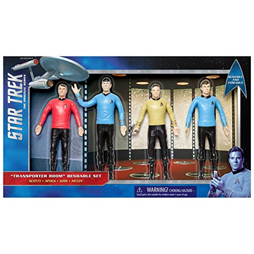 NJ Croce Star Trek TOS: Transporter Room Boxed, Set ()
