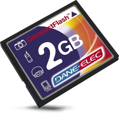 2GB CompactFlash® Memory Card
