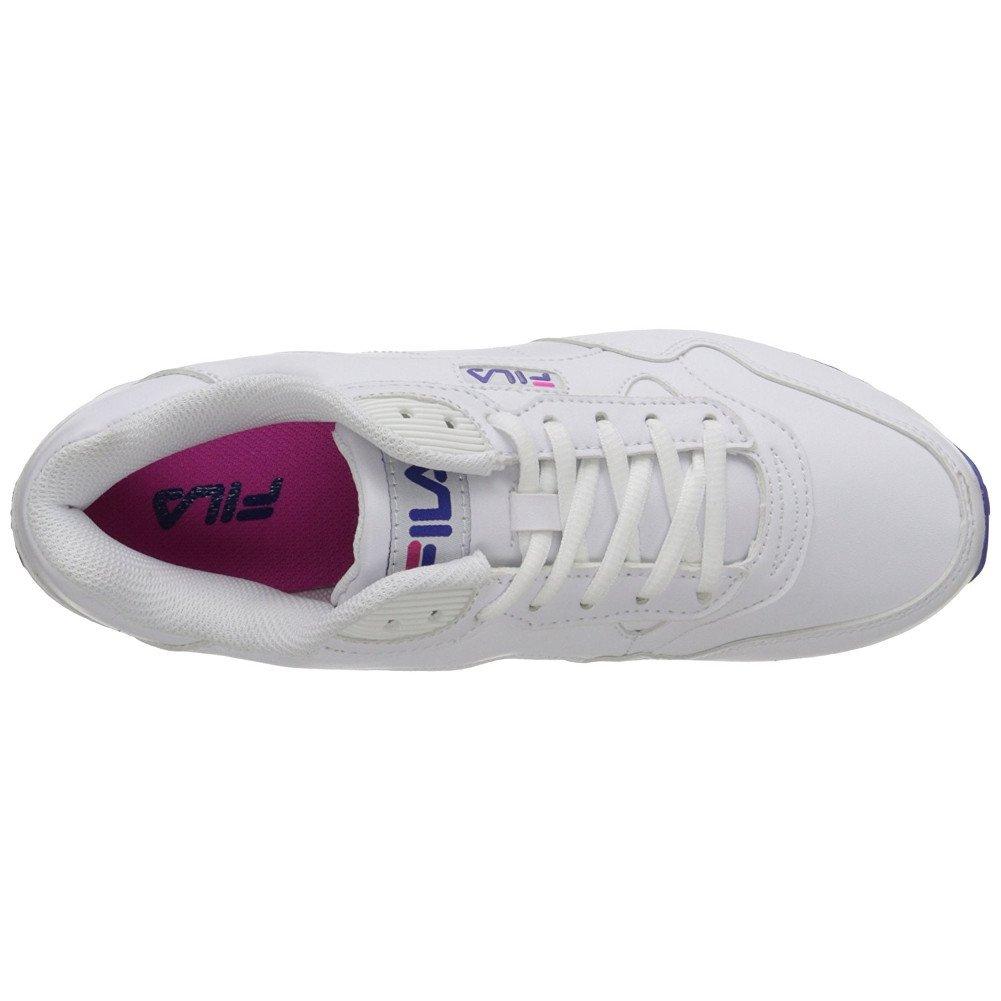 Fila Women's Cress Walking Shoe B06WWDG76Q 11 M US White, Fila Navy, Fila Red
