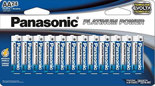Panasonic Energy Corporation LR6XE/24B Platinum Power AA Alk