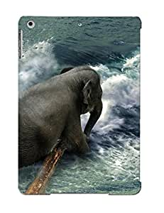 Storydnrmue Tpu Case For Ipad Air With Animal Elephant, Nice Case For Thanksgiving Day's Gift
