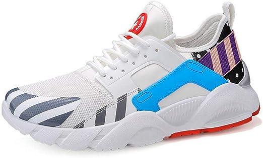 Hy - Zapatillas de Running para Hombre, con Suela de Poca luz ...