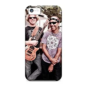 Best Hard Phone Case For Iphone 5c With Custom Beautiful Grateful Dead Band Pattern CharlesPoirier