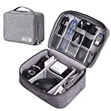 SAMSHOWS Travel Electronic Accessories Organizer Storage Gadget Bag for Vacation