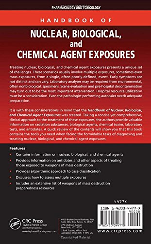 Handbook of Nuclear, Biological, and Chemical Agent Exposures (Handbook of Nuclear, Biological, & Chemical Agent Exposures)