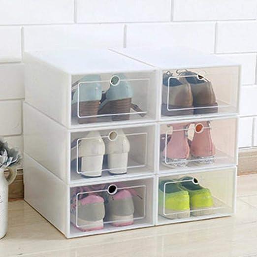 Coil.c Almacenamiento de Zapatos, Juego de 1 Paquetes de plástico ...
