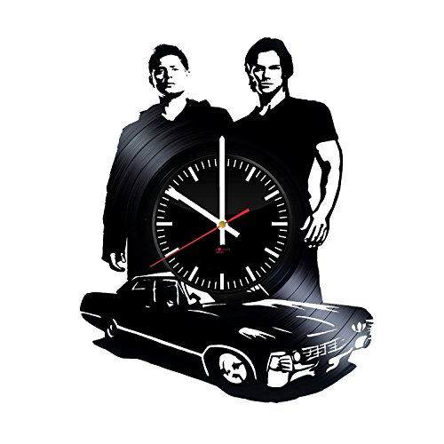 Movie Characters Design Vinyl Record Wall Clock - Get unique living room wall decor - Gift ideas for teens, friends – Unique Modern Art