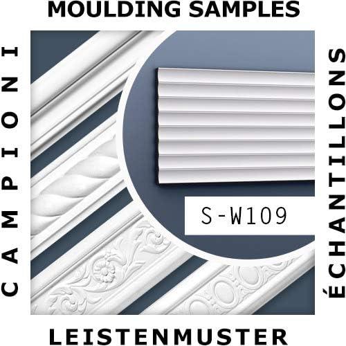 1 MUSTERST/ÜCK S-W109 Orac Decor Profhome MUSTER 3D Wandpaneel Zierleiste ca 10 cm lang