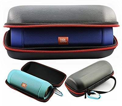 FitSand Travel Carry Flip Zipper Sleeve Portable Protective Hard Case Cover Bag Pouch Box for JBL Charge 2+ Bluetooth Speaker by FitSand