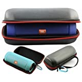 FitSand Travel Carry Flip Zipper Sleeve Portable Protective Hard Case Cover Bag Pouch Box for JBL Charge 2+ Bluetooth Speaker
