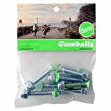 Penny Gumball Skateboard Bolts, Green, 1.125''