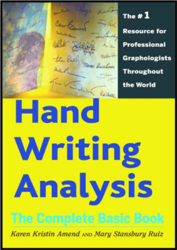 Hand Writing Analysis: The Complete Basic Book