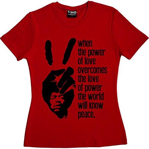 T34 - Camiseta Red Women's T-Shirt