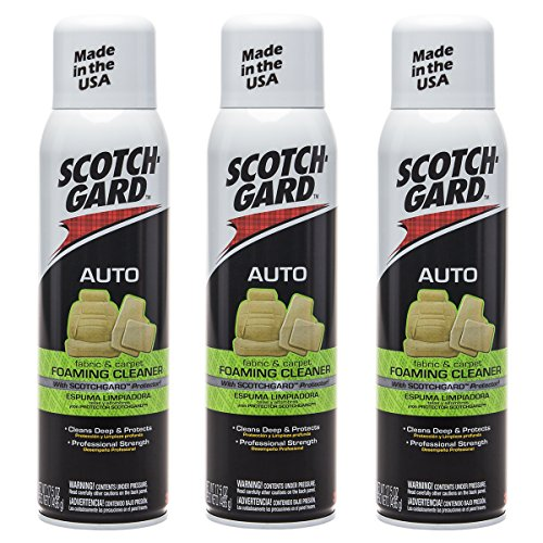 scotchgard 3 pack 3m auto fabric carpet foam cleaner car upholstery interior daily deals. Black Bedroom Furniture Sets. Home Design Ideas