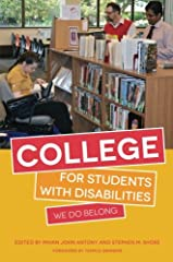 Sharing the personal stories of individuals with disabilities who describe both the challenges and successes of their time in higher education, and with a major section on the findings of broad ranging research into the experiences of ...