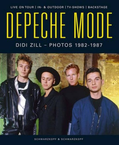 Depeche Mode - Photos von 1982-1987. Live on tour/In- & Outdoor/TV-Shows/Backstage