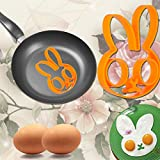 WALFOS 5pcs/set Stainless steel Cute Shaped Fried Egg Mold Pancake Rings Mold Kitchen Tool