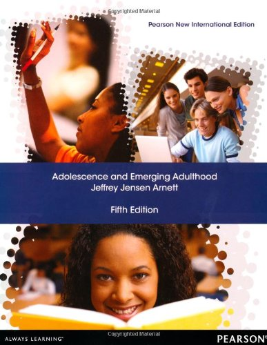 Emerging adulthood and early adulthood