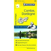 Michelin FRANCE CorrEze, Dordogne Map 329