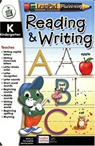 LeapFrog LeapPad Educational Book: Kindergarten - Reading/Writing