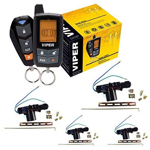 3305V DEI Viper 2 way Keyless Entry Security Alarm System With 4 Door Locks by Viper, Installation Solution