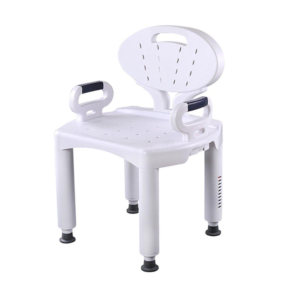 人気ブランドの WYT-0909 WYT-0909 シャワー/バススツールシャワーシートチェア障害援助シャワー椅子背もたれと白いヘビーデューティ最大のハンドルバスベンチと高齢者/障害者/妊娠中の女性のための10の高さで調整可能。 バスルーム用 160kg 160kg バスルーム用 B07FLYQP83, ナガヌママチ:3233e79e --- ciadaterra.com