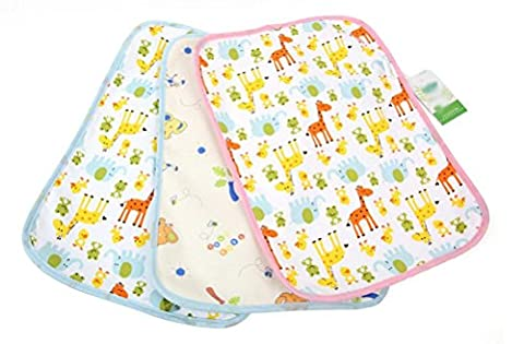 Nanxson(TM) Waterproof Reusable Baby Infant Urinal Pad Cover/Mat/Mattress Changing Pad TZET0001 (M)