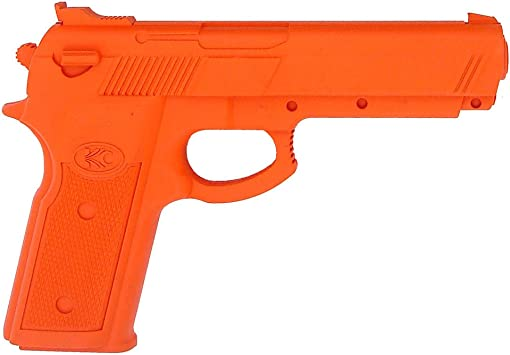 Rubber Practice Gun Yellow    practice weapons NEW!