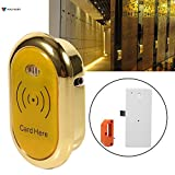 induction chamber - Cabinet Drawer Lock - Zinc Alloy Electronic Cabinet Drawer Lock Induction Sensor Card Sauna Shower W Screw - Whorl Shut Ignition Ringlet Chamber - 1PCs