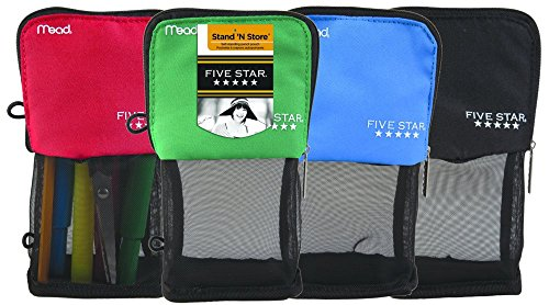 The Best Five Star Stand 'N Store Pencil Pouch - Qty 12