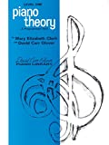 img - for Piano Theory: Level 1 (A Programmed Text) (David Carr Glover Piano Library) book / textbook / text book