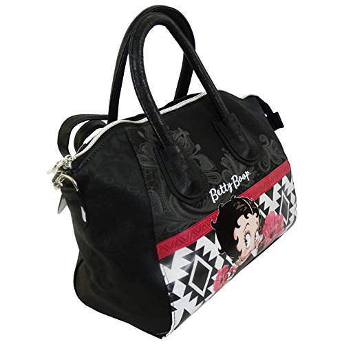Betty Boop Tribal Borsa da Donna Bauletto Bowling Mini Tresor