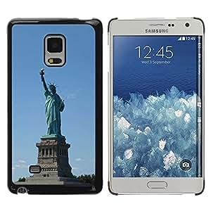 Be Good Phone Accessory // Dura Cáscara cubierta Protectora Caso Carcasa Funda de Protección para Samsung Galaxy Mega 5.8 9150 9152 // Architecture Statue Of Liberty