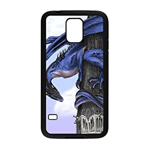 Ancient Dragon Samsung Galaxy S5 Cell Phone Case Black TPU Phone Case SV_313629