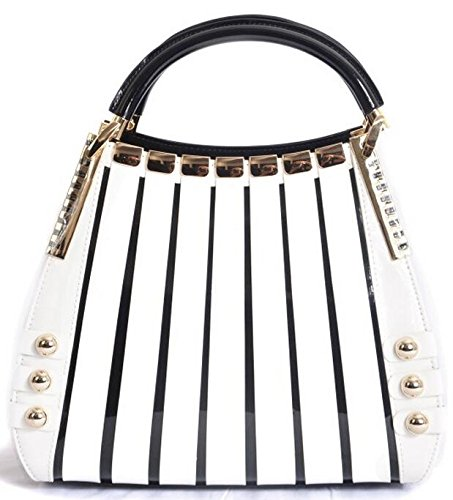 BRAVOHANDBAGS-Irina-Signature-Series-Handbag-Medium-White