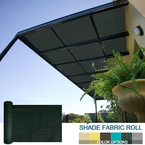 SoLGear 8Ft X 103Ft Shade Cloth Pergola Patio Cover Provide Shade Fabric  Roll Mesh Screen Heavy