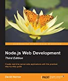 Create real-time server-side applications with this practical, step-by-step guide      About This Book        Learn about server-side JavaScript with Node.js and Node modules through the most up-to-date book on Node.js web development     Und...