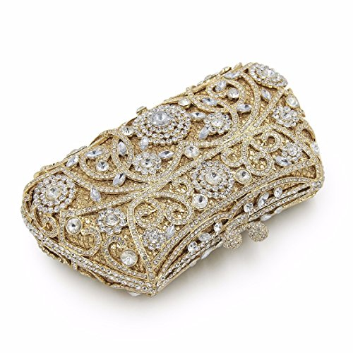 Bag Ladies Purses Maollmm Wedding Women Crystal Bags Diamonds Gold Clutch Evening Party tqt0Ppxw