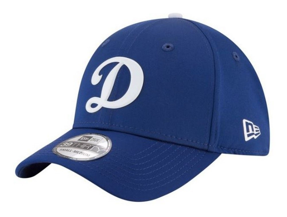 New Era Los Angeles Dodgers 2018 On-Field Prolight Batting Practice 39THIRTY Flex Hat Blue