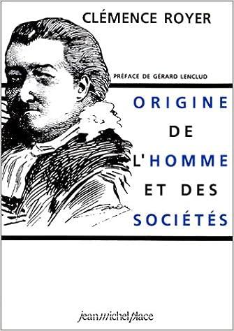 En ligne téléchargement ORIGINE DE L'HOMME ET DES SOCIETES pdf