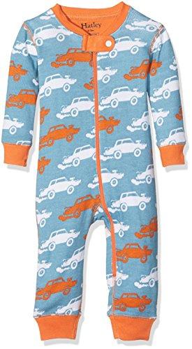 Hatley Baby Boys' Organic Cotton Sleeper, Derby Cars, 12-18m