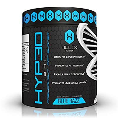 Hyp3d: The World's First 2-in-1 Clinically Dosed, Creatine-free, Non Water-retaining Pre Workout & Thermogenic. Experience the Rush, Pump, Strength, and Fat Loss. Money Back Guarantee ...