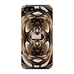 Case Cover Brown 2/ Fashionable Case For Iphone 5/5s