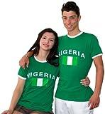 Brubaker - Maglietta Nigeria, taglia S-XXXL, colore: Verde