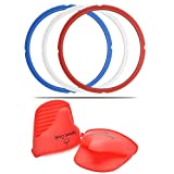 : 3 Pack of Replacement Silicone Sealing Rings Fits 5qt & 6qt IP Models | Sweet & Savoury Edition | + FREE Silicone Mitts + ebook! BPA FREE & 100% Food Grade