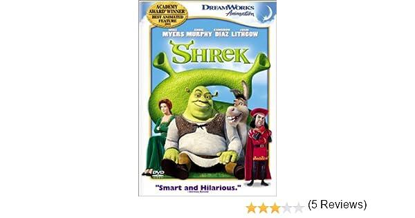 Shrek [Reino Unido] [DVD]: Amazon.es: Shrek, [Full Dub Sub ...