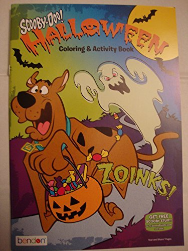 Scooby-Doo Halloween Coloring & Activity Book - -
